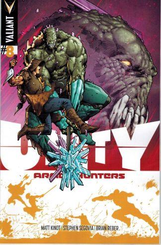 Unity #8 Trevor Hairsine Variant 1:25 Valiant Armor Hunters