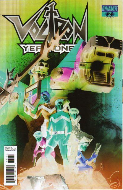 Voltron: Year One #2 Admira Wijaya Negative Art Variant Brandon Thomas