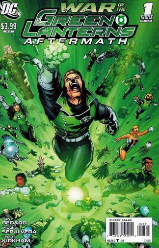 War of the Green Lanters Aftermath #1 Miguel Sepulveda Variant Guy Gardner