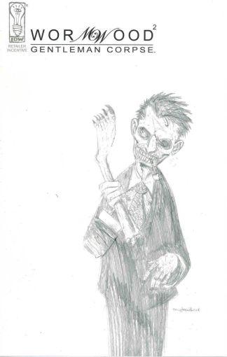 Wormwood Gentleman Corpse #2 Ben Templesmith Retailer Incentive Sketch Variant