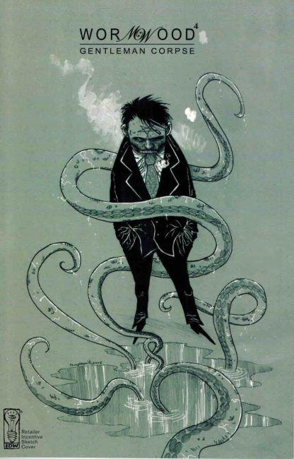 Wormwood Gentleman Corpse #4 Ben Templesmith Retailer Incentive Sketch Variant