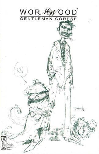 Wormwood Gentleman Corpse #7 Ben Templesmith Retailer Incentive Sketch Variant