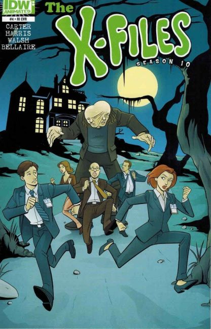 X-Files #4 Scooby Doo Sharp Brothers Variant