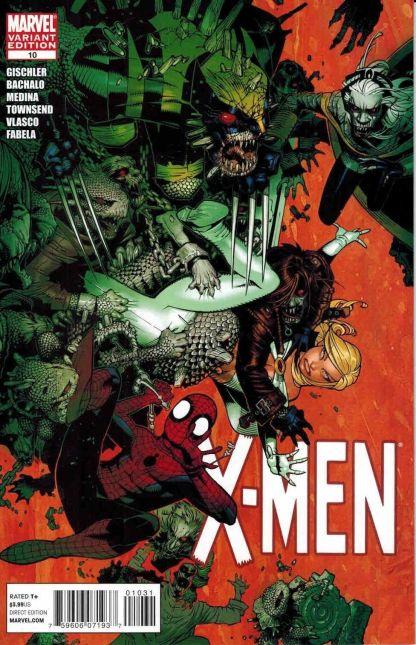 X-Men (2010) #10 Chris Bachalo Spider-Man Emma Frost Variant