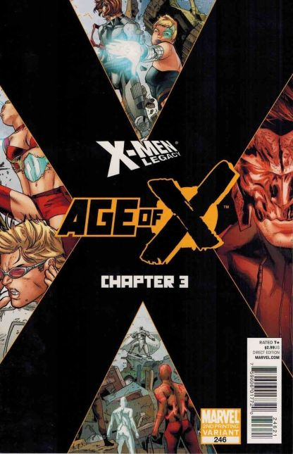 X-Men Legacy #246 2nd Printing Age of X Chapter 3 Variant