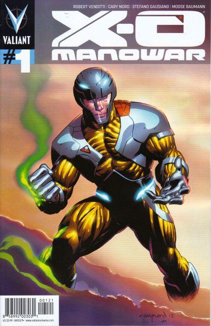 X-O Manowar #1 Cary Nord Pullbox Variant