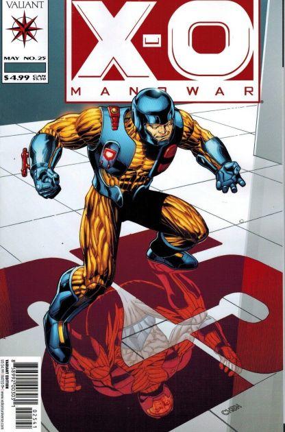 X-O Manowar #25 1:20 Sean Chen Variant