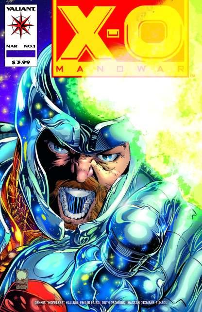X-O Manowar #1 Exclusive Joe Quesada Classic Color Variant Valiant 2020 500 Copy