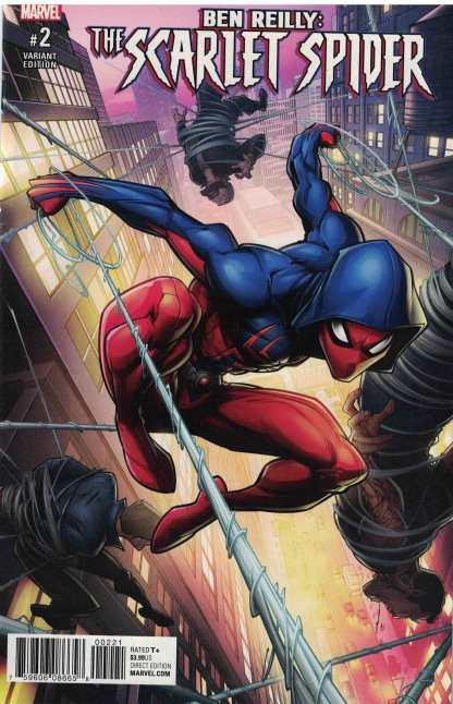 Ben Reilly Scarlet Spider #2 1:25 Patrick Brown Variant Marvel 2017