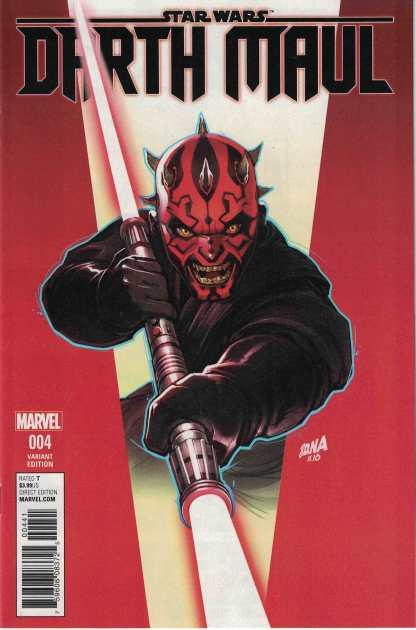 Star Wars Darth Maul #4 1:25 David Nakayama DNA Variant Marvel 2017