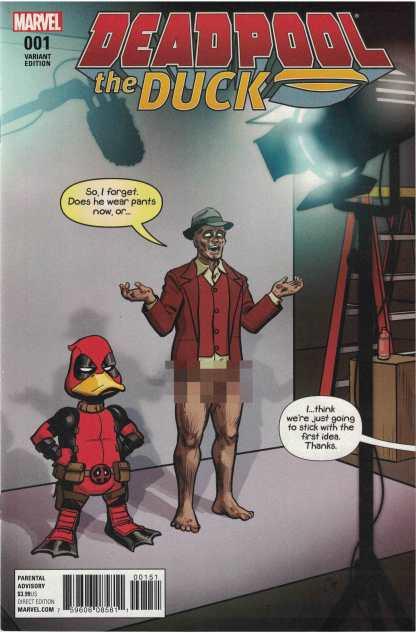 Deadpool the Duck #1 1:50 Chip Zdarsky Variant Marvel 2016