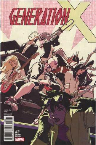 Generation X #2 1:25 David Lopez Variant Marvel