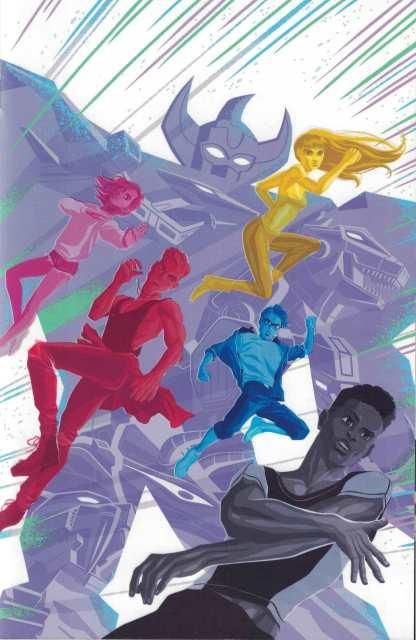 Mighty Morphin Power Rangers 2017 Annual #1 1:25 George Caltsoudas Boom!