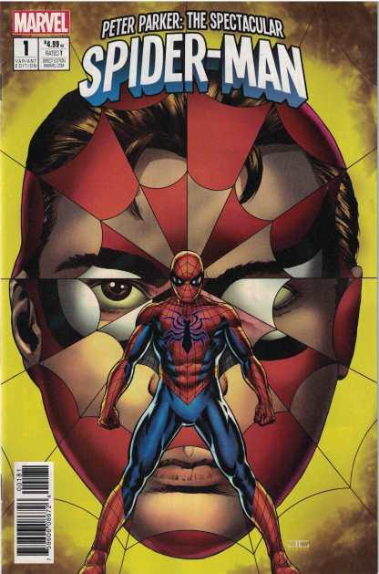 Peter Parker Spectacular Spider-man #1 1:25 John Cassaday Variant Marvel 2017
