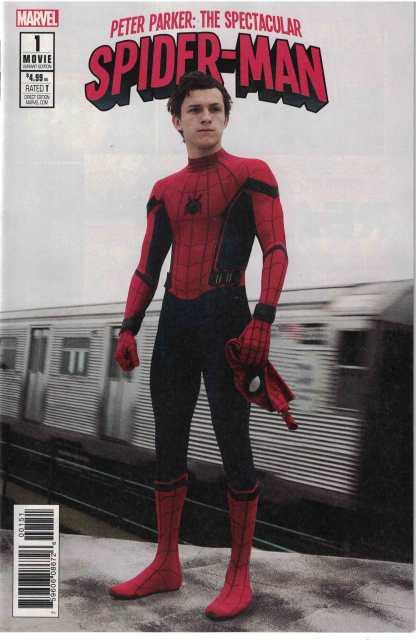 Peter Parker Spectacular Spider-Man #1 1:15 Movie Photo Variant 2017
