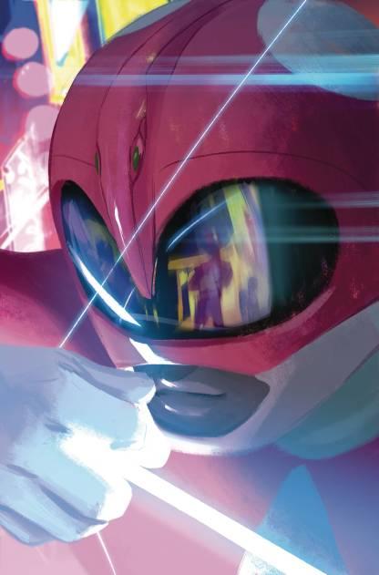 Power Rangers Pink #1 1:20 Helen Chen Variant Boom Studios 2016 MMPR