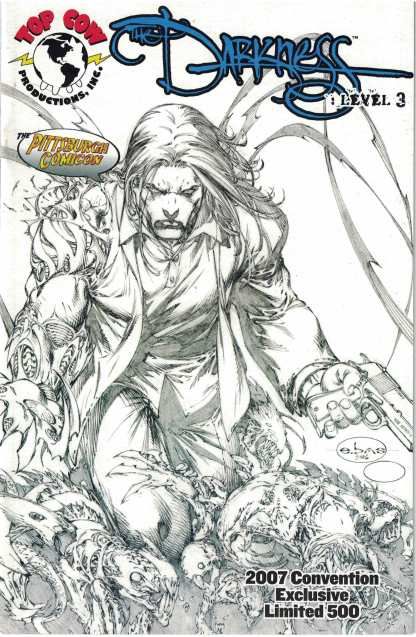 The Darkness #3 Pittsburgh Comicon 2007 Exclusive Limited 500 Top Cow