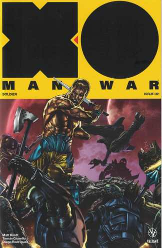 X-O Manowar #2 1:20 Interlocking Mico Suayan Valiant Variant 2017