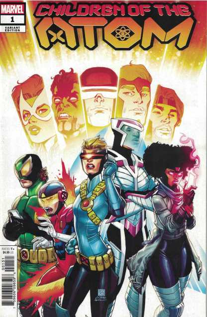 Children of the Atom #1 1:25 Bernard Chang Variant Marvel 2021 Vita Ayala