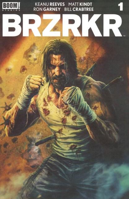 BRZRKR #1 1:25 Lee Bermejo Variant BOOM! 2020 Keanu Reeves Matt Kindt