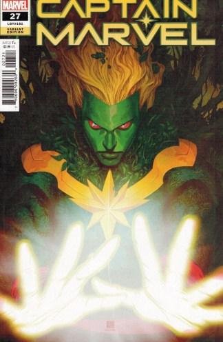 Captain Marvel #27 Bernard Chang Cover B Variant Marvel 2021 David Lopez