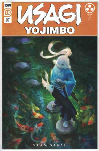 Usagi Yojimbo #18 1:10 Jennifer Myer Variant IDW 2019 Tengu War VF/NM