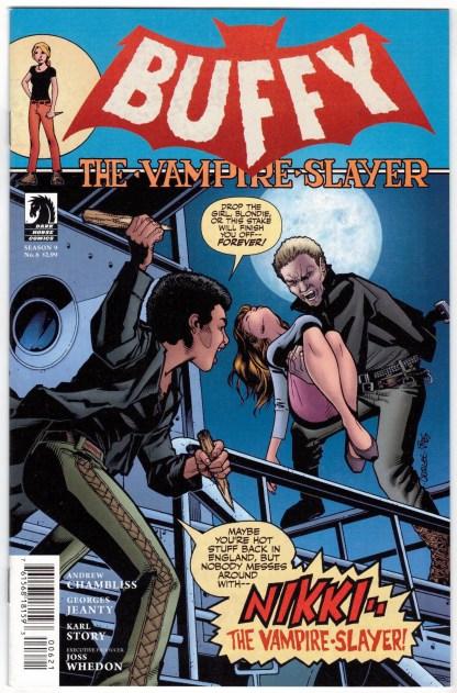 Buffy the Vampire Slayer Season 9 #6 Jeanty Cover B Dark Horse 2011 VF/NM
