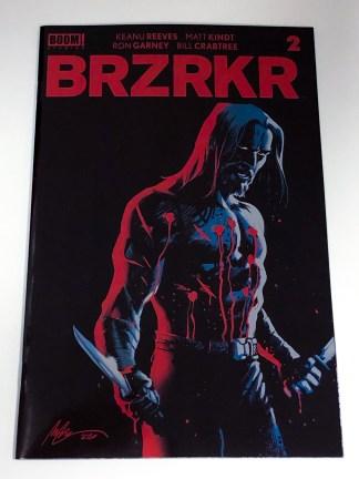 BRZRKR #2 Albuquerque Foil Variant BOOM! 2020 Keanu Reeves