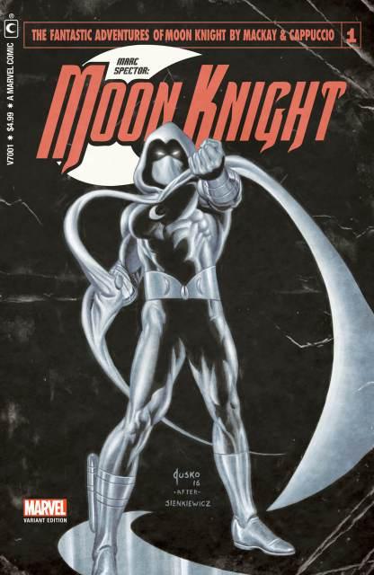 Moon Knight #1 Ultimate Comics Exclusive Joe Jusko Vintage Pulp Variant Marvel 2021 Est Ship Date 7/21/2021
