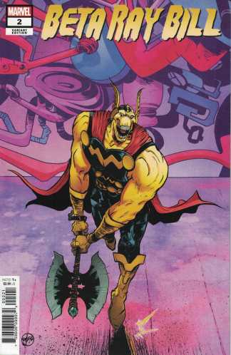 Beta Ray Bill #2 1:25 Paul Pope Variant Marvel 2021