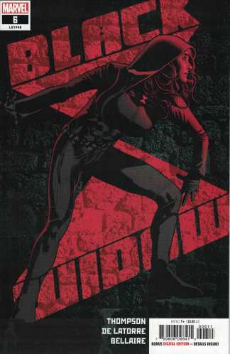 Black Widow #6 First Print Cover A Hughes Marvel 2021 1st Lucy Nguyen