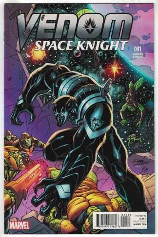 Venom Space Knight #1 1:25 Ron Lim Variant Marvel 2015 Robbie Thompson VF/NM
