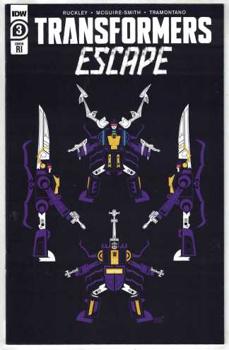 Transformers Escape #3 1:10 Sara Pitre-Durocher Variant IDW 2020 Ruckley NM-