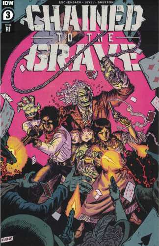 Chained to the Grave #3 1:10 Brian Level Variant IDW 2020