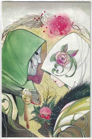 Fantastic Four #32 1:100 Peach Momoko Virgin Variant Marvel 2018 Doctor Doom NM