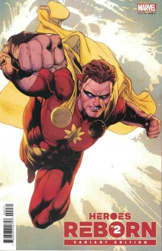 Heroes Reborn #2 1:25 Carlos Magno Variant Hyperion Marvel 2021