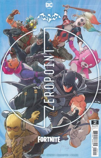 Batman Fortnite Zero Point #2 Mikel Janín Cover DC 2021 Sealed Polybagged