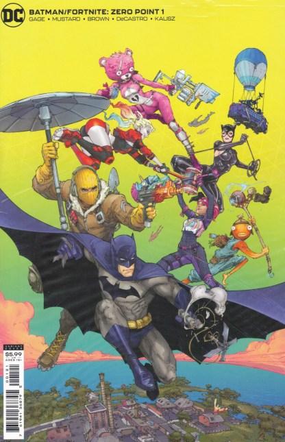 Batman Fortnite Zero Point #1 Rocafort B Cover DC 2021 Sealed Polybagged