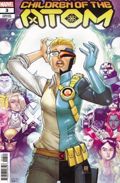 Children of the Atom #3 1:25 Bernard Chang Variant X-Men 2021