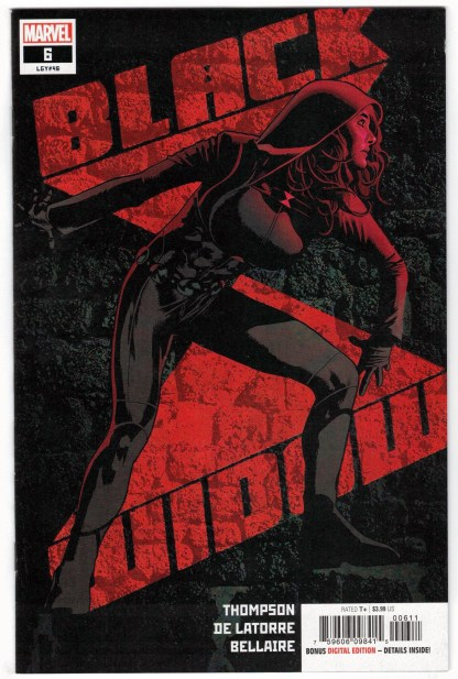 Black Widow #6 First Print Cover A Marvel 2021 1st Lucy Nguyen VF/NM
