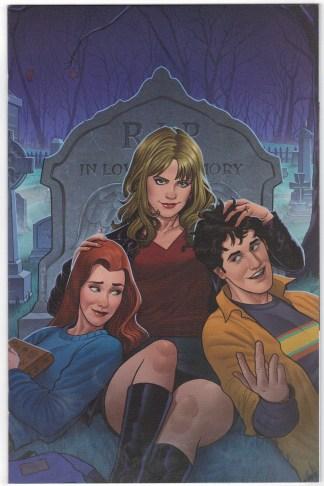Buffy the Vampire Slayer #25 Quinones Virgin Variant Boom 2019 VF/NM