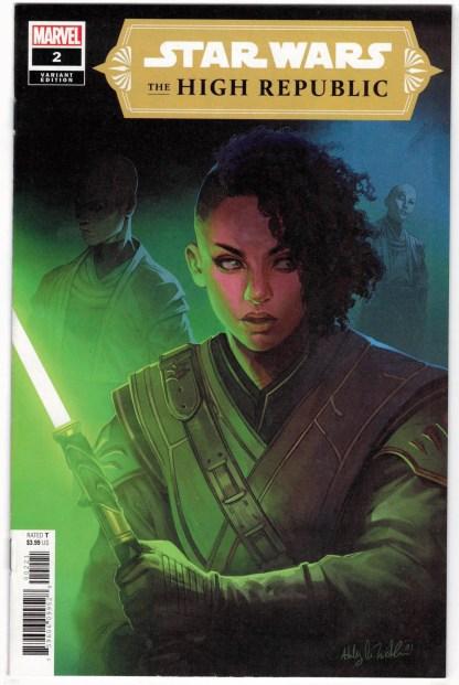 Star Wars High Republic #2 1:25 Ashley Witter Variant Marvel 2021 VF/NM