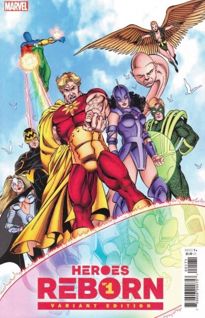 Heroes Reborn #1 1:100 George Perez Hidden Gem Variant Marvel 2021