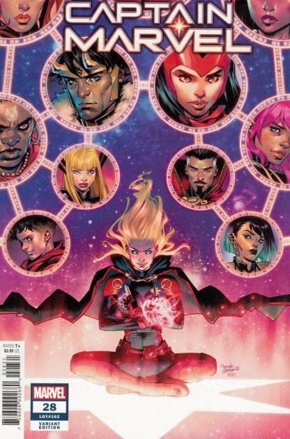 Captain Marvel #28 1:25 Belen Ortega Variant Marvel 2019