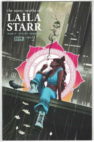 Many Deaths of Laila Starr #2 1:25 Jeff Dekal Variant Boom 2021 Ram V VF/NM