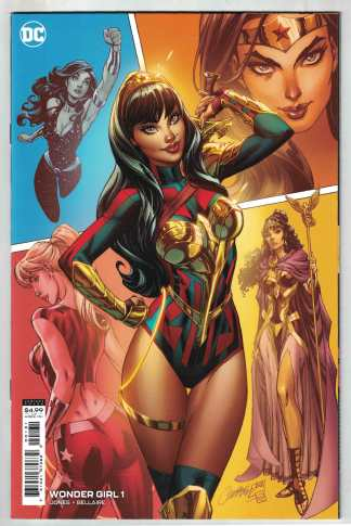 Wonder Girl #1 1:25 Campbell Variant DC 2021 VF/NM