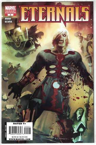 Eternals #5 Nguyen Zombie Variant Marvel 2008 VF/NM