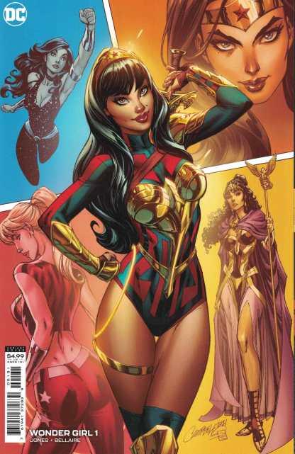 Wonder Girl #1 1:25 Campbell Variant DC 2021