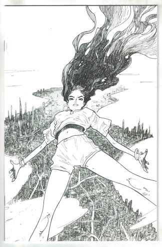 Many Deaths of Laila Starr #1 2nd Print Andrade B&W Virgin Variant BOOM! VF/NM