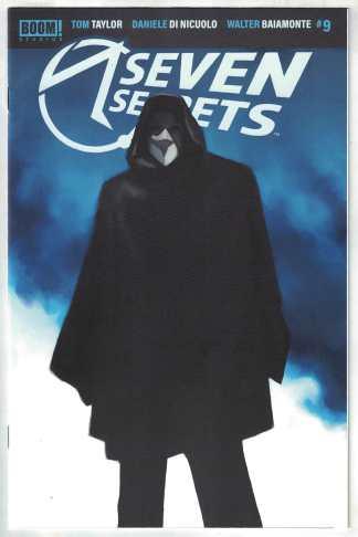 Seven Secrets #9 1:10 Miguel Mercado Variant Boom! 2020 Tom Taylor VF/NM